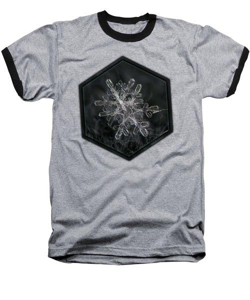 Snowflake Photo - January 18 2013 Grey Colors Baseball T-Shirt