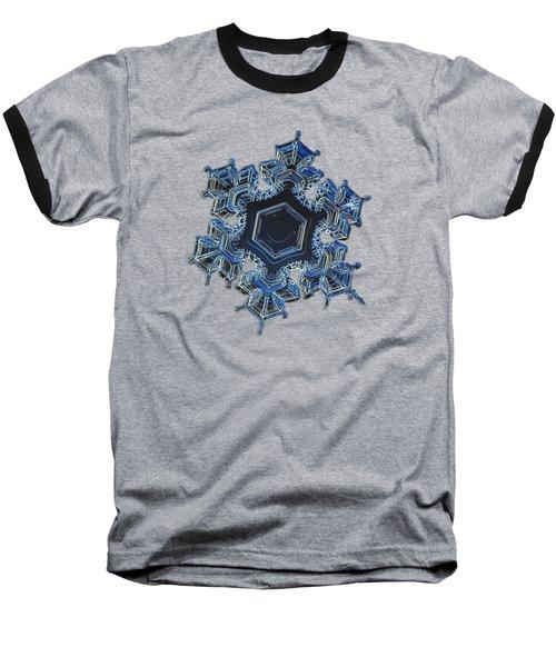 Snowflake Photo - Spark Baseball T-Shirt