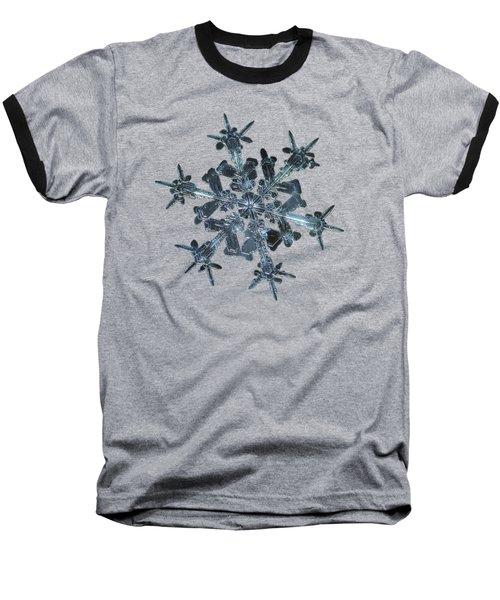 Snowflake Photo - Starlight Baseball T-Shirt
