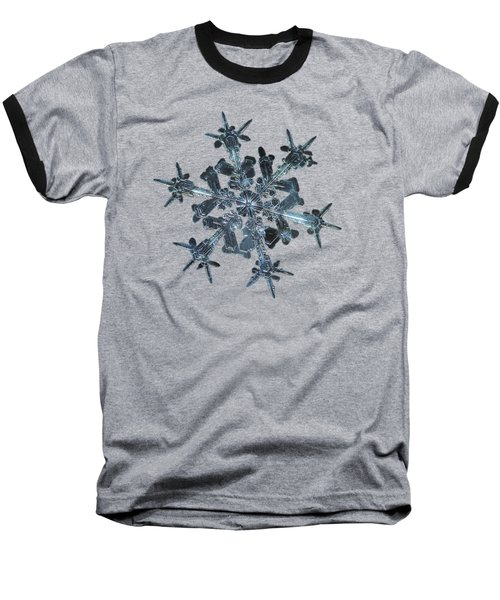 Snowflake Photo - Starlight Baseball T-Shirt
