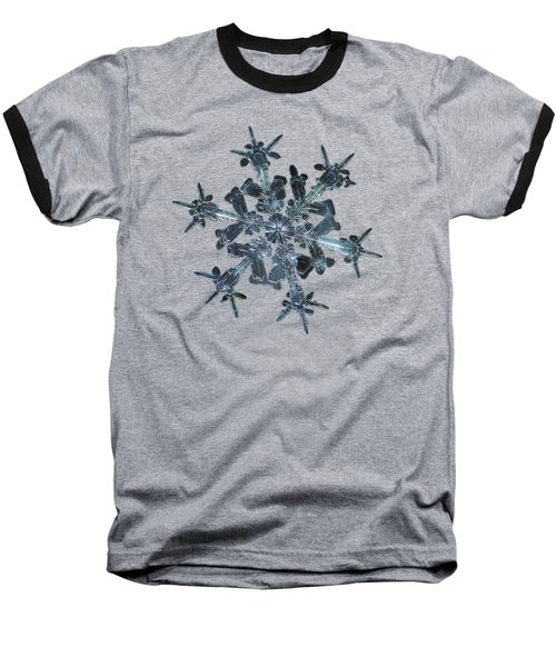 Snowflake Photo - Starlight II Baseball T-Shirt by Alexey Kljatov