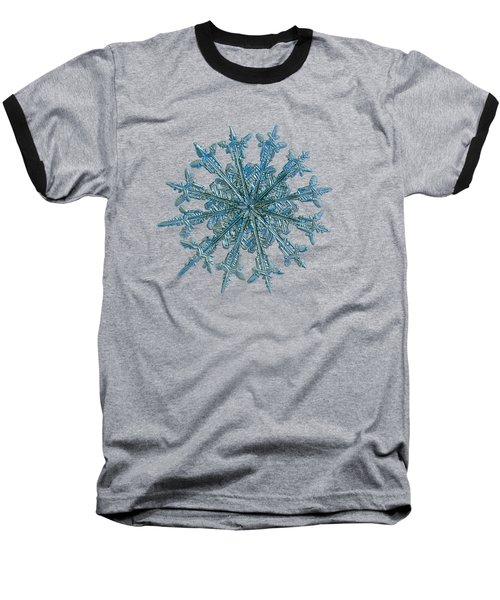 Snowflake Photo - Twelve Months Baseball T-Shirt