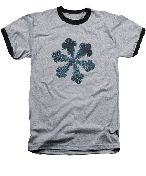 Snowflake Photo - Vega Baseball T-Shirt