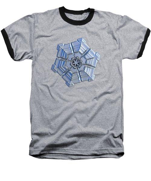 Snowflake Photo - Winter Fortress Baseball T-Shirt