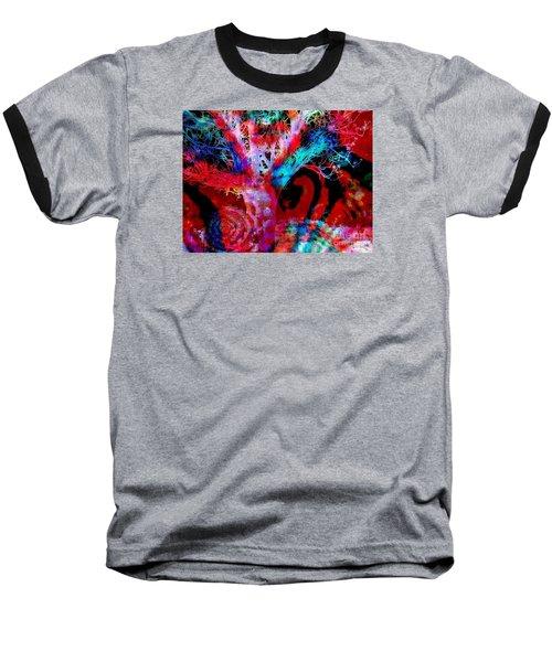 Snowing Baobab Baseball T-Shirt