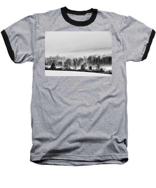 Snowscape Baseball T-Shirt