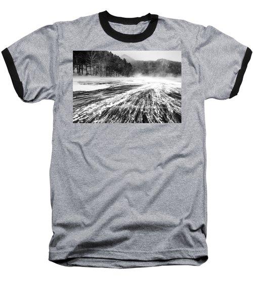 Snowstorm Baseball T-Shirt