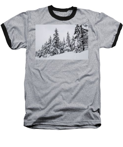 Snowy-1 Baseball T-Shirt