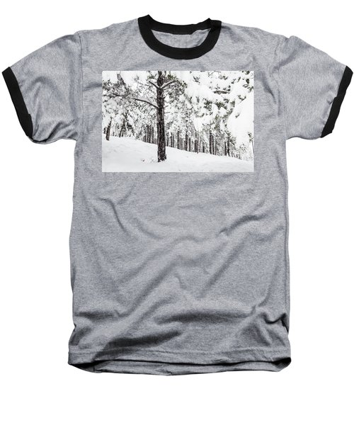 Snowy-4 Baseball T-Shirt