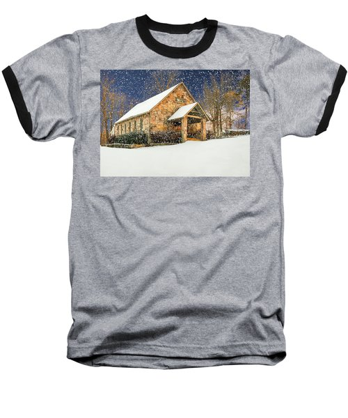 Snowy Cloudland Presbyterian Church  Baseball T-Shirt