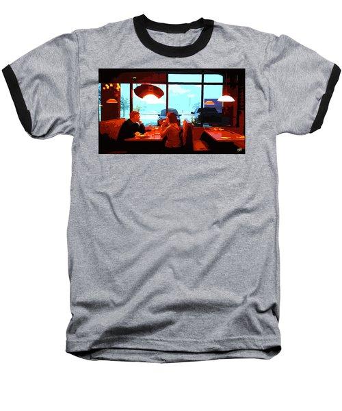 Snowy Date Baseball T-Shirt