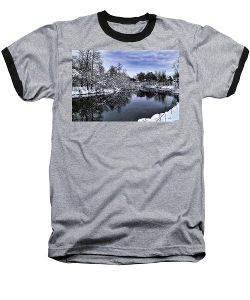 Snowy Ellicott Creek Baseball T-Shirt