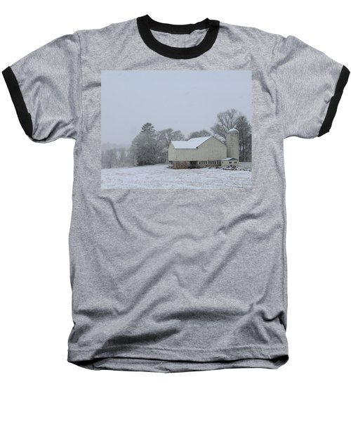 Winter White Farm Baseball T-Shirt