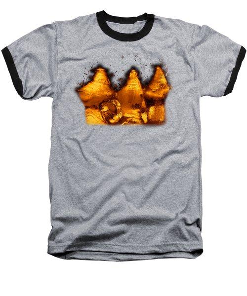 Snowy Ice Bottles Baseball T-Shirt