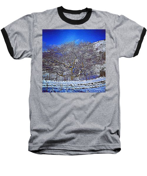 Snowy Baseball T-Shirt