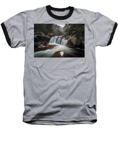 Snowy Mist Baseball T-Shirt