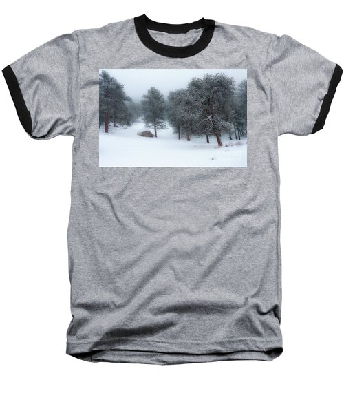 Snowy Morning - 0622 Baseball T-Shirt