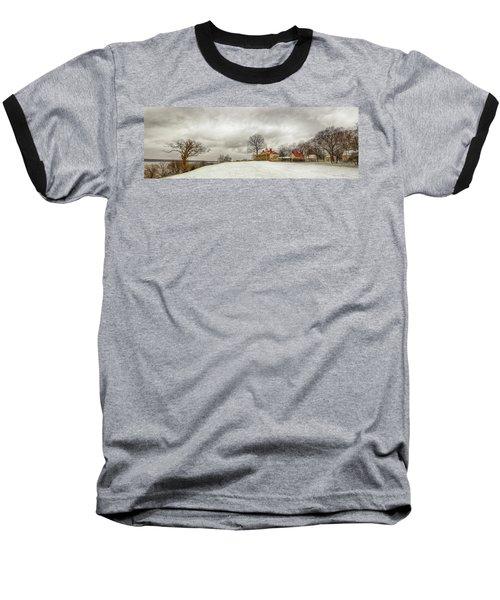Snowy Mt Vernon Baseball T-Shirt