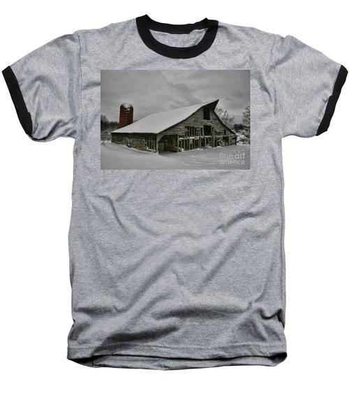 Snowy Thunder Baseball T-Shirt