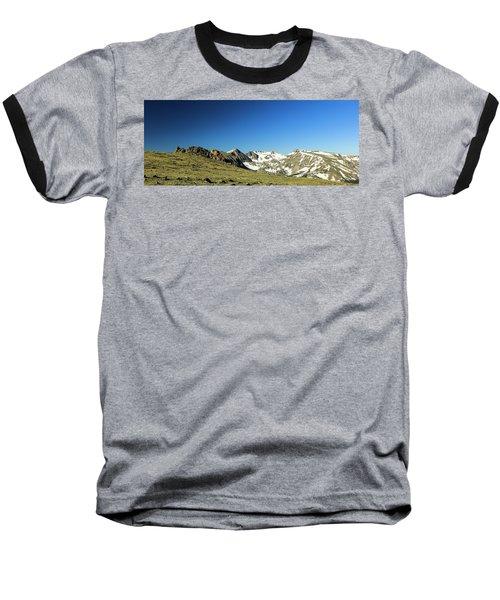 Snowy Top Baseball T-Shirt