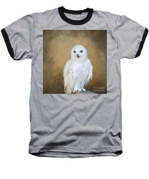 Snowy White Baseball T-Shirt