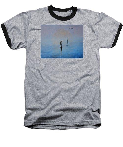 So Close Baseball T-Shirt by Jane See
