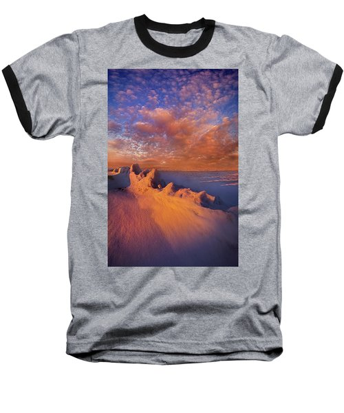 Baseball T-Shirt featuring the photograph So It Begins by Phil Koch