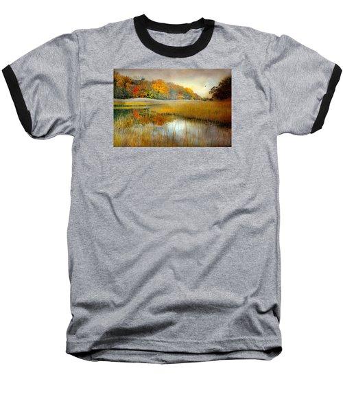 So Long Baseball T-Shirt by Diana Angstadt