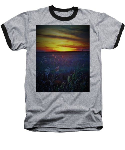 Baseball T-Shirt featuring the photograph So Many Colors by John Glass