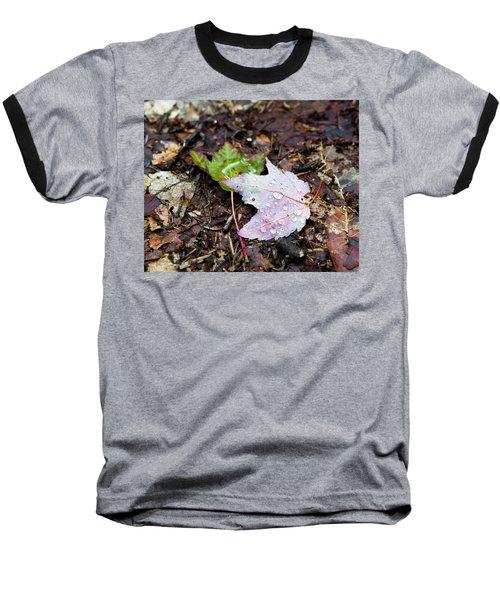 Soaken Leaves Baseball T-Shirt