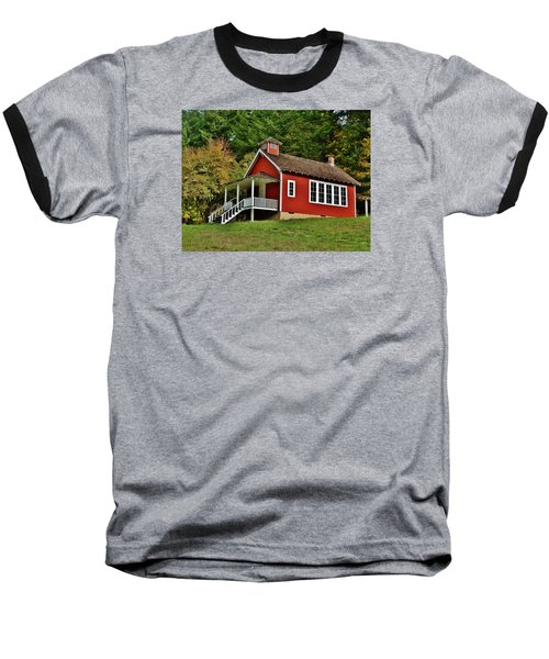 Soap Creek Schoolhouse Baseball T-Shirt