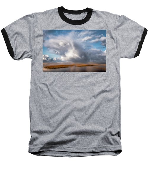 Soaring Clouds Baseball T-Shirt
