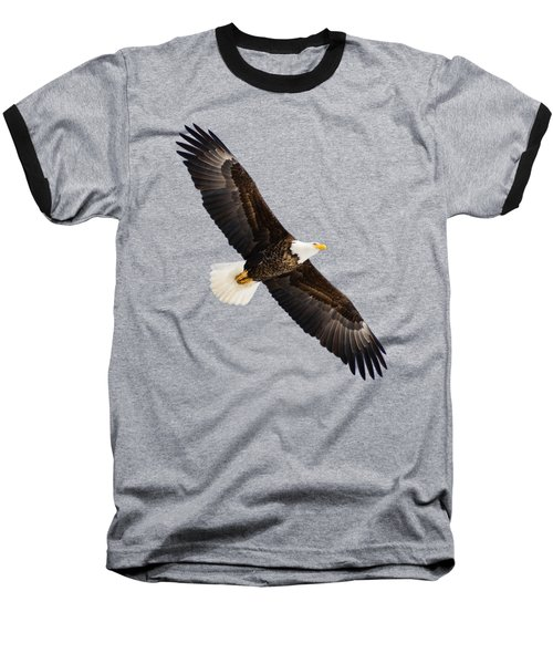 Soaring Eagle Baseball T-Shirt by Greg Norrell