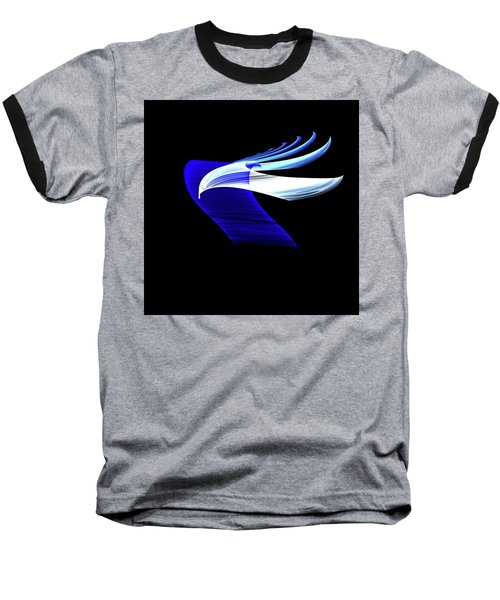 Baseball T-Shirt featuring the digital art Soaring by Lea Wiggins