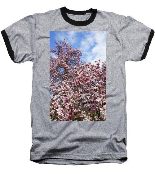 Soaring Magnolia Baseball T-Shirt