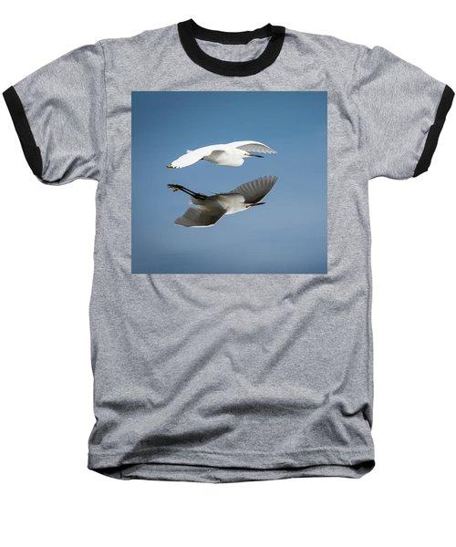 Soaring Over Still Waters Baseball T-Shirt