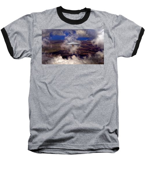Soaring Through The Clouds Baseball T-Shirt