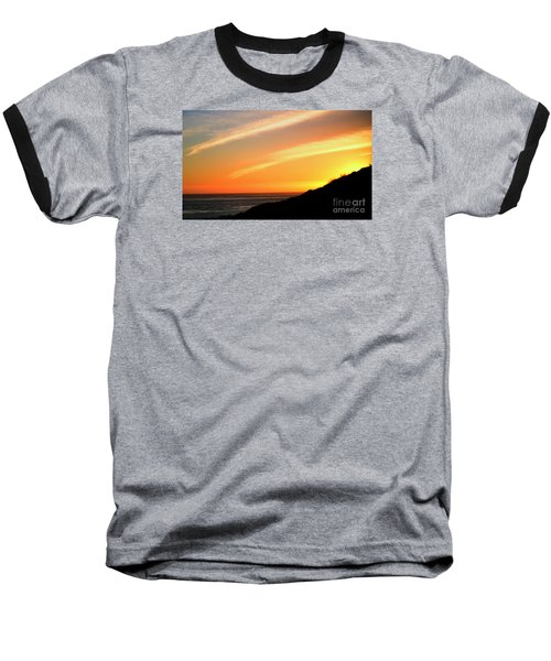 Baseball T-Shirt featuring the photograph Socal Sunet by Clayton Bruster