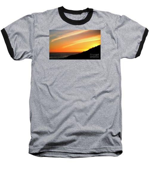 Socal Sunet Baseball T-Shirt by Clayton Bruster