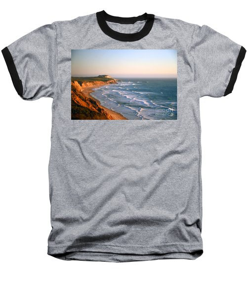 Socal Sunset Ocean Front Baseball T-Shirt