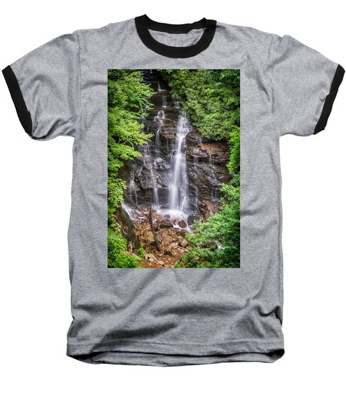 Baseball T-Shirt featuring the photograph Socco Falls by Stephen Stookey