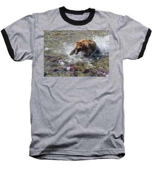 Sockeye In Sight  Baseball T-Shirt