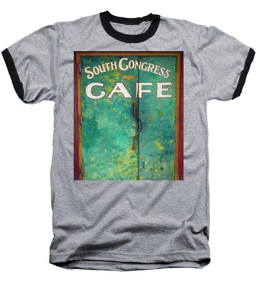 Soco Cafe Doors Baseball T-Shirt