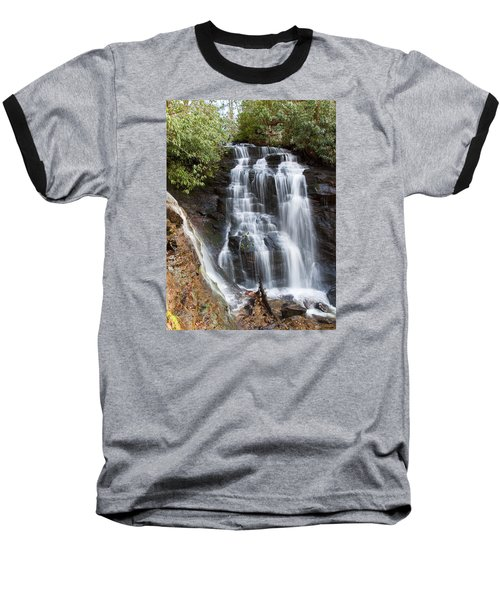 Soco Falls Baseball T-Shirt by Craig T Burgwardt