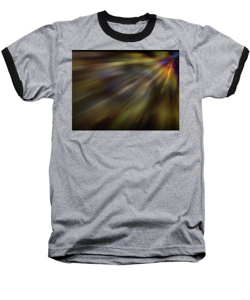 Soft Amber Blur Baseball T-Shirt