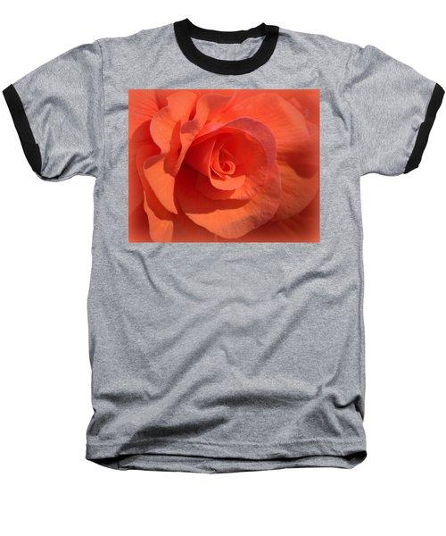 Soft Begonia Baseball T-Shirt