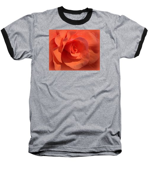 Soft Begonia Baseball T-Shirt