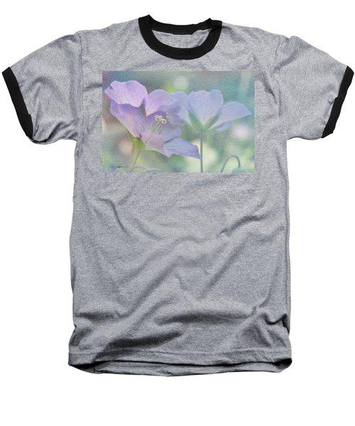Soft Blue Baseball T-Shirt