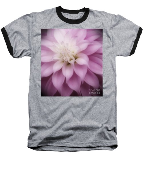 Soft Dahlia  Baseball T-Shirt