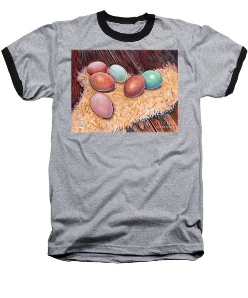 Soft Eggs Baseball T-Shirt